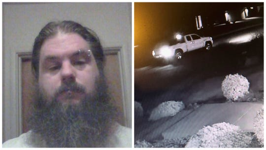 Redding police released these images of Francis Lane, who was wanted in connection to a fatal stabbing.