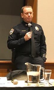 Redding police Capt. Bill Schueller