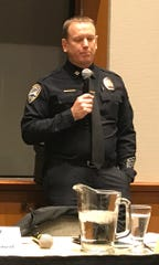 Redding police Capt. Bill Schueller