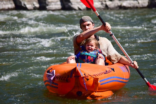 Kayaks and rafts over 10 feet long would need a $17 permit under a plan being considered by the state legislature.