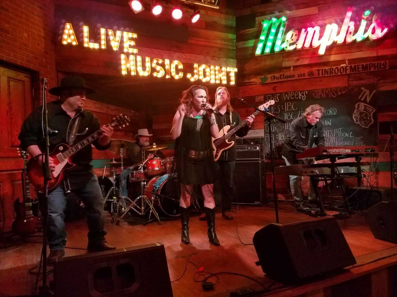 San Angelo's Boogie Town performs in Memphis during the annual International Blues Challenge on Thursday, Jan. 24, 2019.
