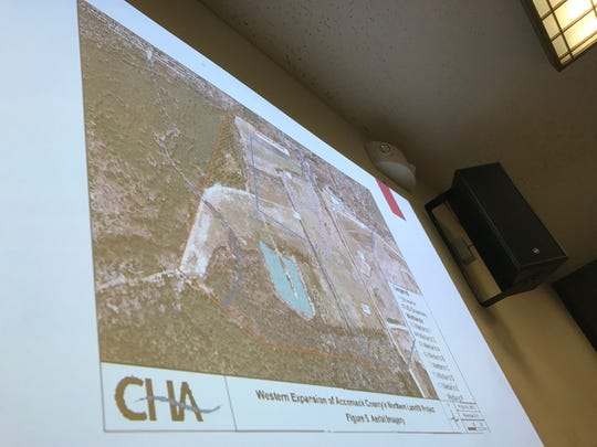 Accomack County is expanding its landfill.
