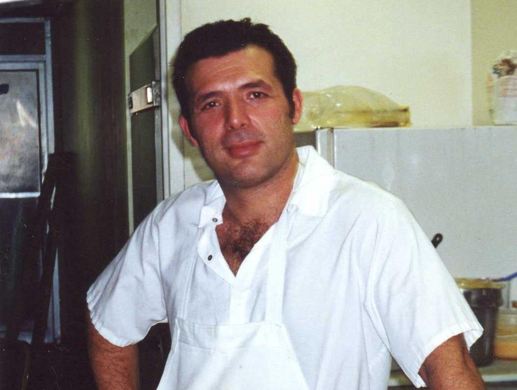 Harry Ljatifovski in 2000 when Harry's Diner first opened.