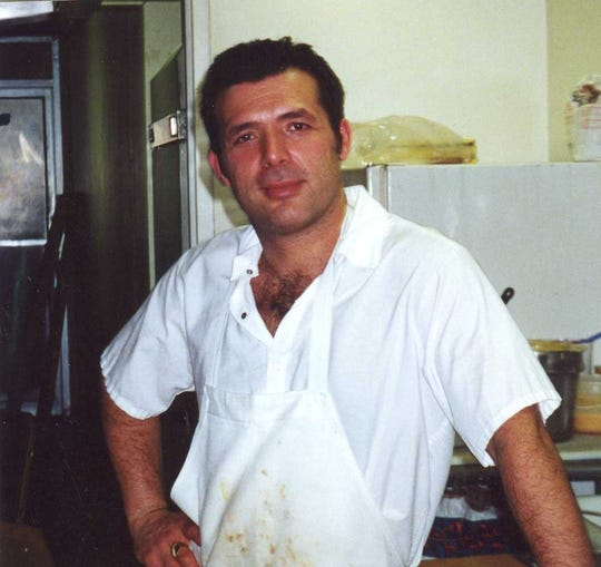 Harry Ljatifovski in 2000 when Harry's Diner first opened.