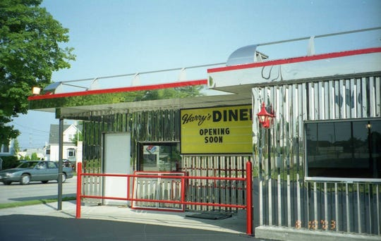 Harry's Diner opened its new location in 2003 after the old location on Kohler Memorial Drive was torn down.