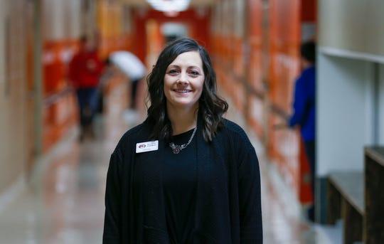 Republic Middle School Principal Allison Dishman.