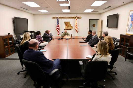 A meeting Thursday afternoon between officials from Ozarks Technical Community College and Fort Leonard Wood.