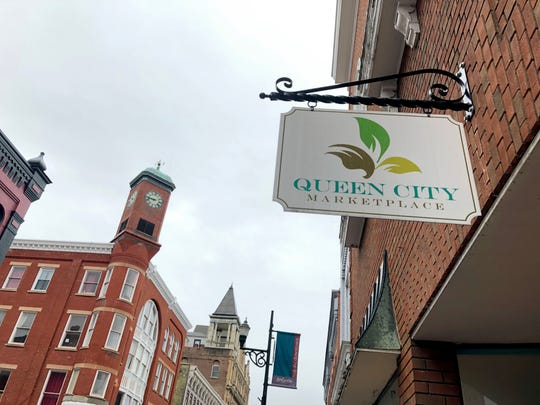 Queen City Marketplace on Beverley Street in downtown Staunton will close Jan. 31, 2018. The building is for sale.