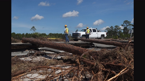 Hurricane Michael survivors still in the eye of the storm 6