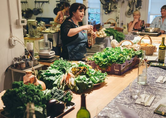 Seasonal cooking class makes the most of fresh produce.