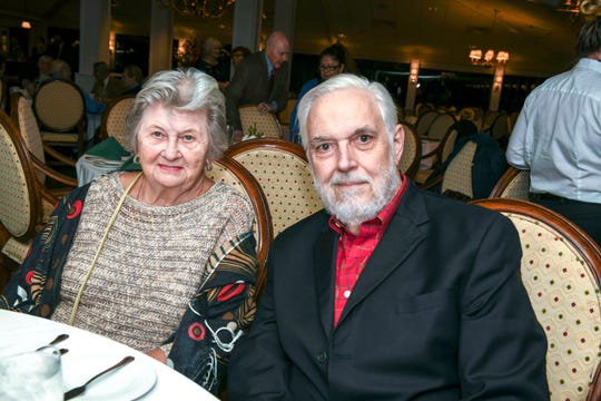Nancy and Dan Brown at the Jan. 14 Masterwork Dinner hosted by Stuart Friends of the Atlantic Classical Orchestra at Mariner Sands Country Club.