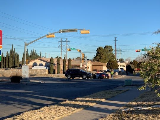 A man barricaded himself inside an East El Paso home Thursday.