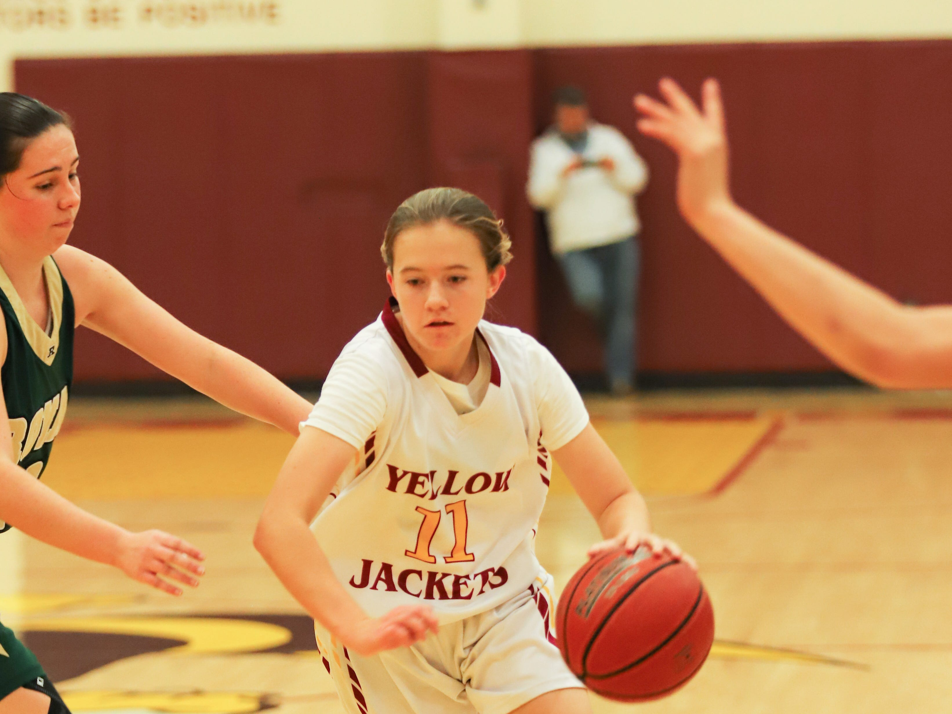 Ciara Gallagher is one of several talented freshman for Oxnard High.