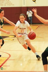 Oxnard freshman Ciara Gallagher scored 15 points in her first postseason game Thursday night.