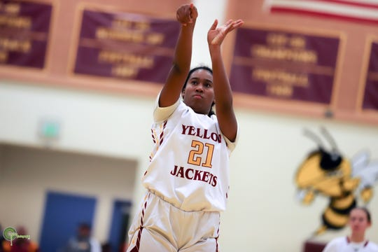 Sophomore Malaykah Lumas has averaged 8.6 points per game for a balanced Oxnard team.