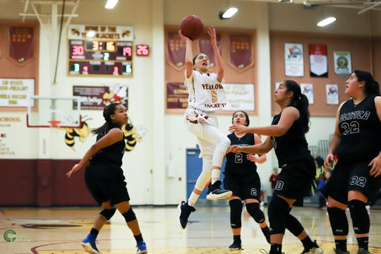 Freshman Samantha McKenzie, a 5-foot-6 guard, has scored 11.3 points per game to help Oxnard clinch the revamped Pacific View League title.