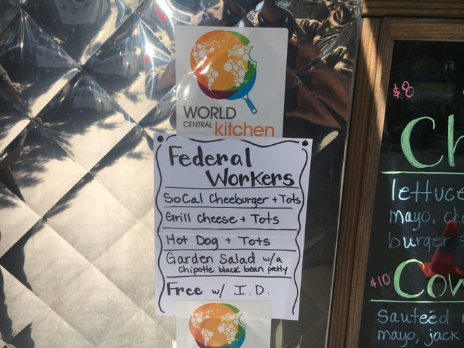 The SoCal Comfort Food Truck is part of a #ChefsForFeds project that is providing free meals to federal workers.