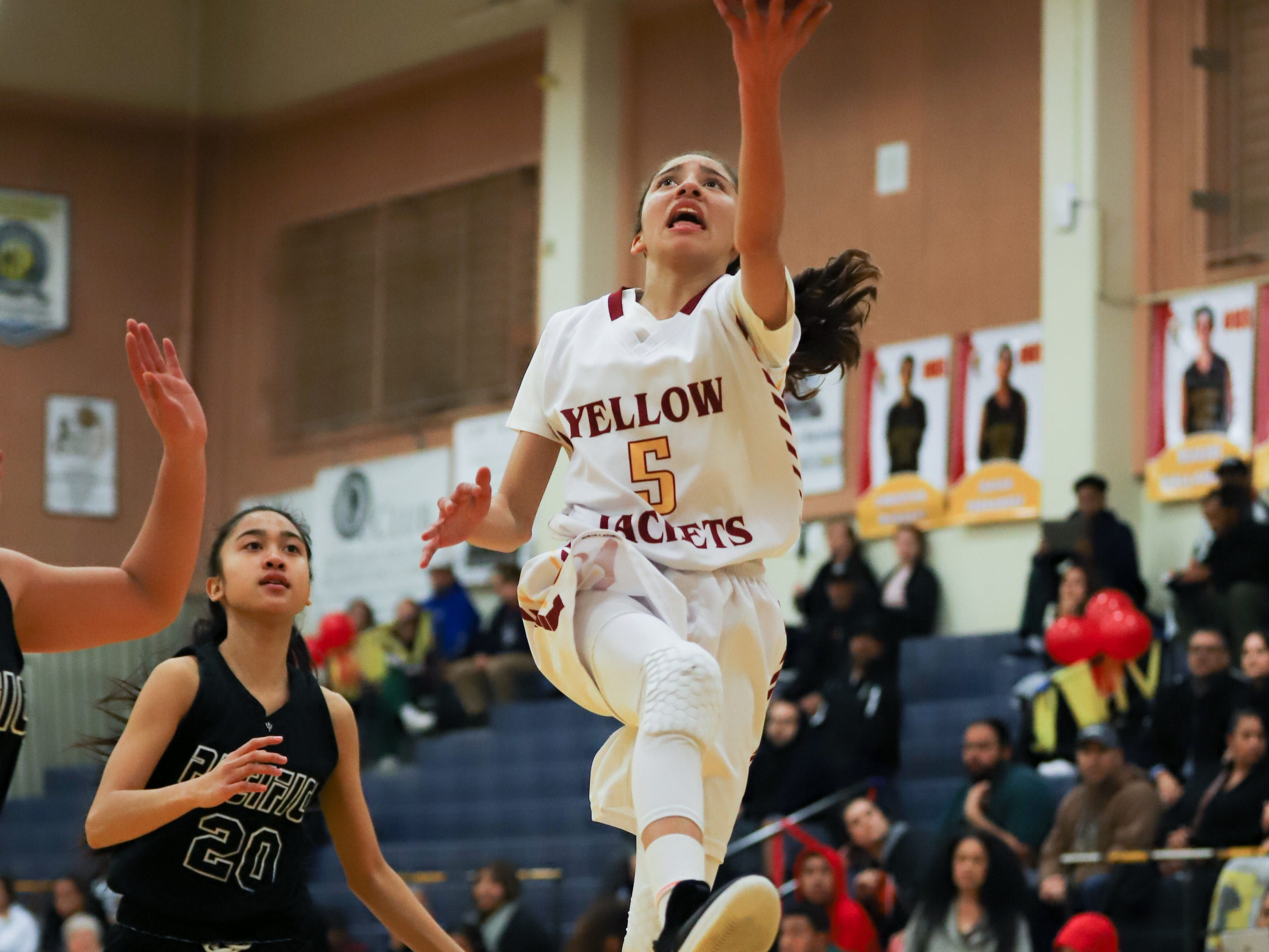 Freshman Samantha McKenzie has played like a seasoned veteran for Oxnard High.