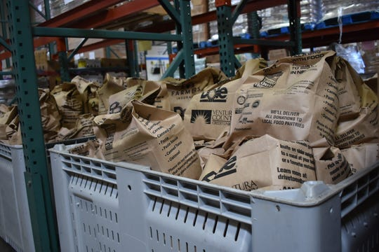 Food Share, a food bank that serves people across Ventura County, is trying to recruit volunteers and buy food in bulk as the coronavirus crisis continues.