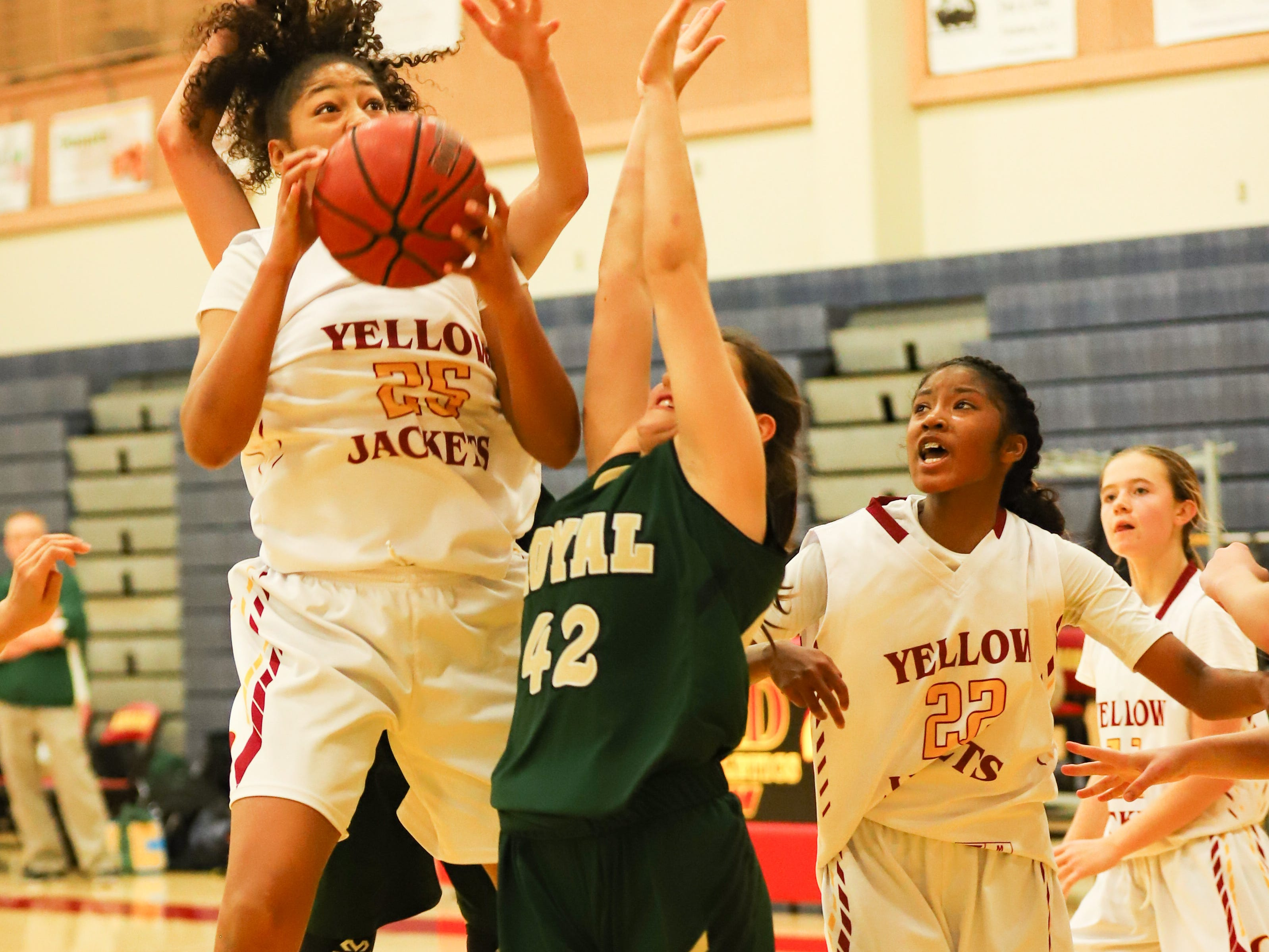 Jasmine Nichols, a 6-foot senior, is scoring 12.2 points per game for a deep and talented Oxnard High girls basketball team.