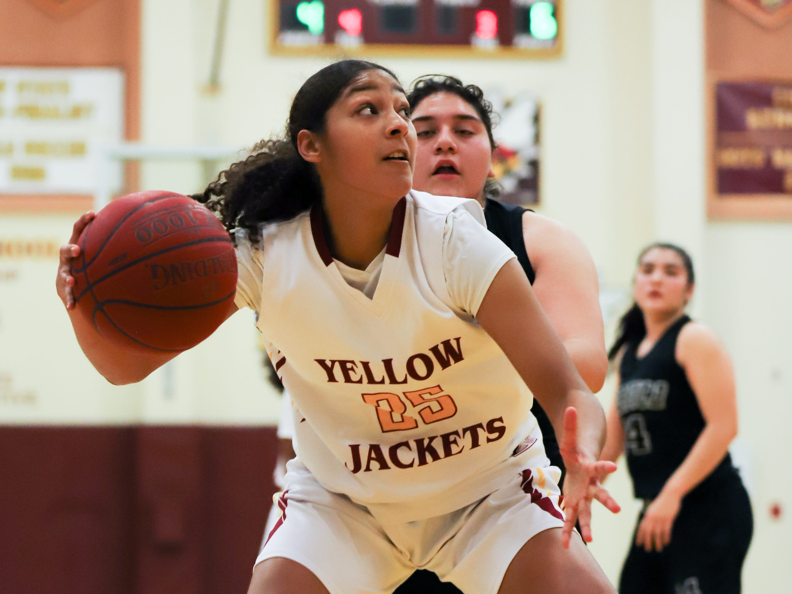 Jasmine Nichols has been a consistent force for a deep and talented Oxnard High girls basketball team.