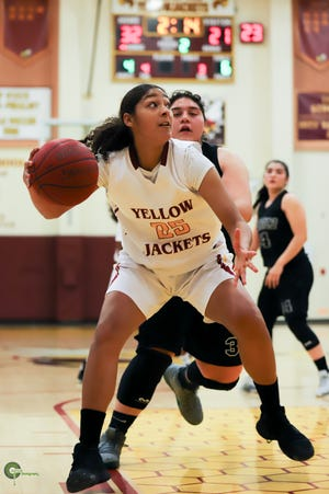 Jasmine Nichols was named co-MVP of the Pacific View League.