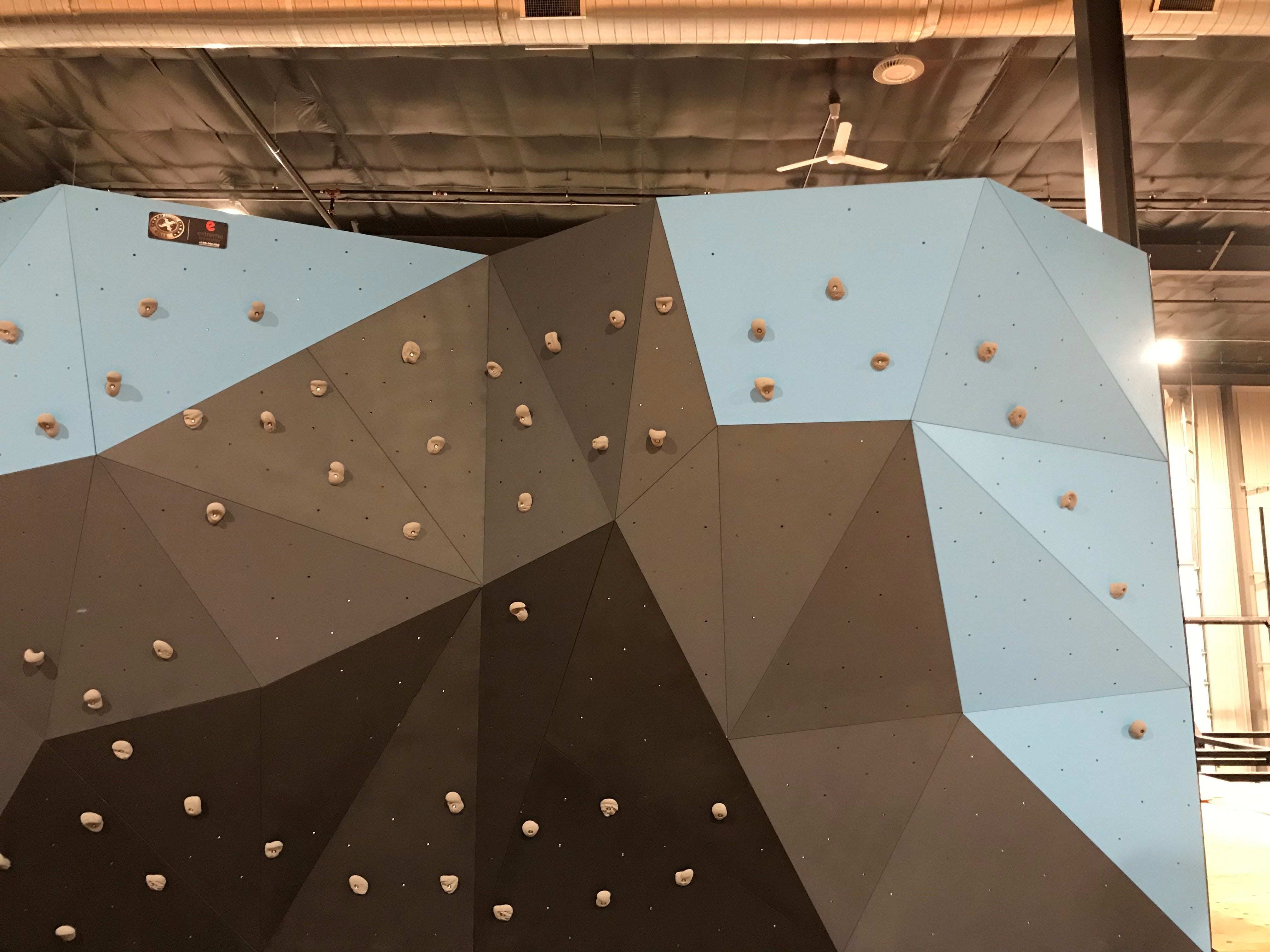 A climbing wall, with protection underneath in case of falls, will also be included in the trampoline park.