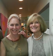 Kirsten Gillibrand and Betty Cotton
