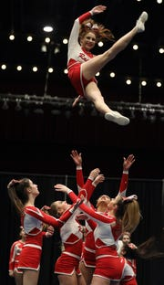 North Rockland wins Westchester Invitational Grand Championship during the 70th Annual Westchester County Cheerleading Invitational at County Center in White Plains Jan. 23, 2019.