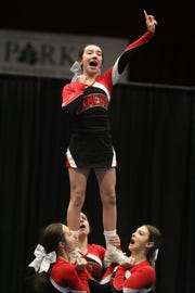 The 70th Annual Westchester County Cheerleading Invitational at County Center in White Plains Jan. 23, 2019.