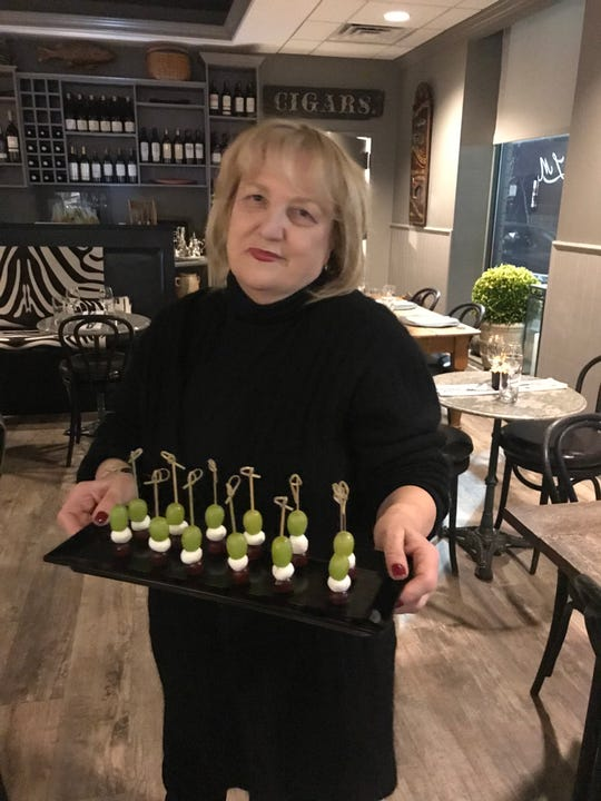 Chef/owner Josyane Colwell at her restaurant, Le Moulin Eatery & Wine Bar in Yonkers. The French-born chef is big into personal service and hospitality.