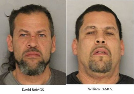 State police arrested David Ramos and William Ramos Tuesday for breaking into a furniture store near New Castle.