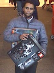 This man was caught on camera robbing the Target store in Brandywine Hundred Monday, police said.