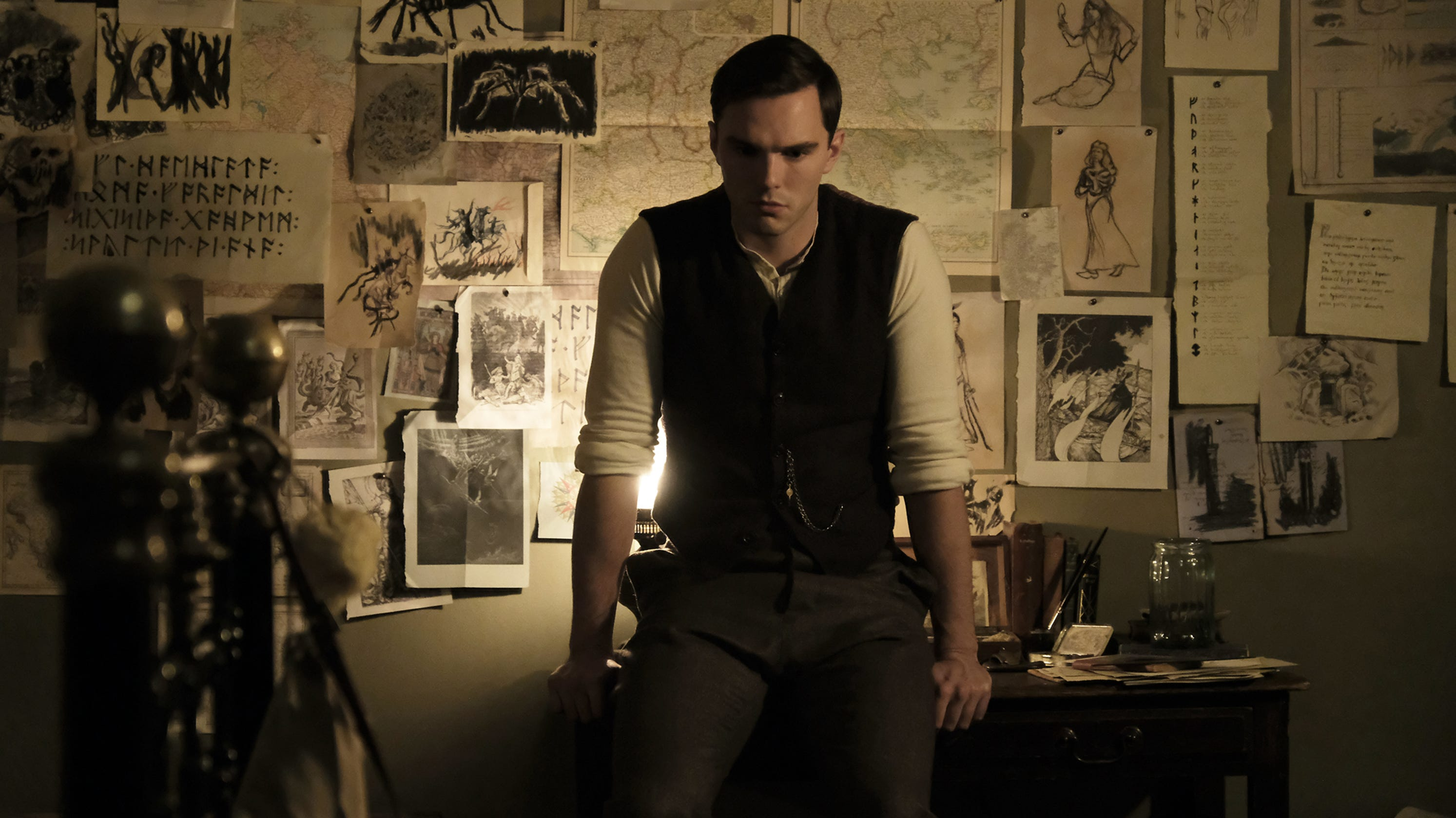 'Tolkien' exclusive: See first photos of Nicholas Hoult in ...