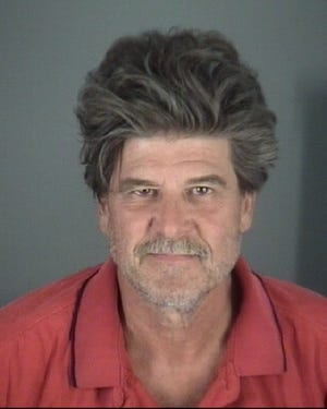 David AllenBoileau, 58, was arrested for burglary and could face a hate crime charge,Pasco County Sheriff Chris Nocco said.