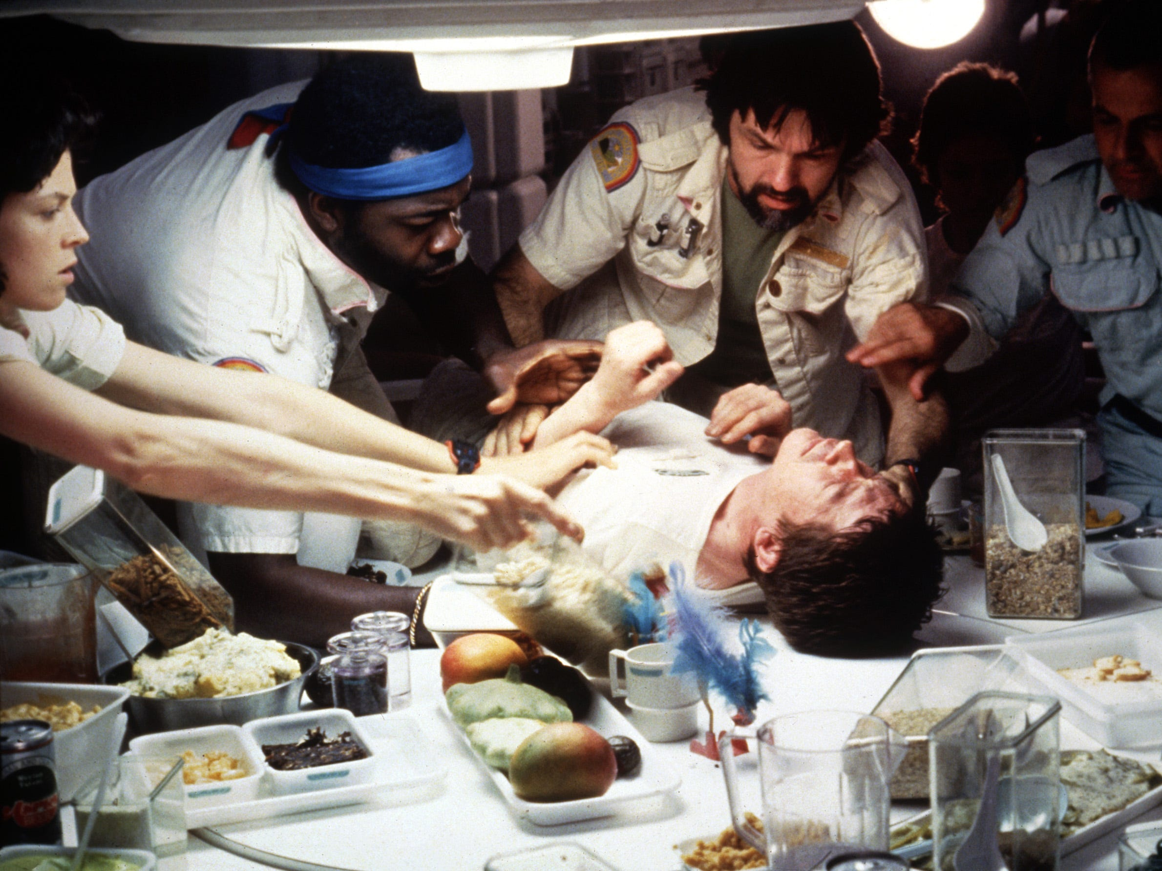 New 'Alien' documentary shows funny, phallic origins of that famous 'chestburster' scene