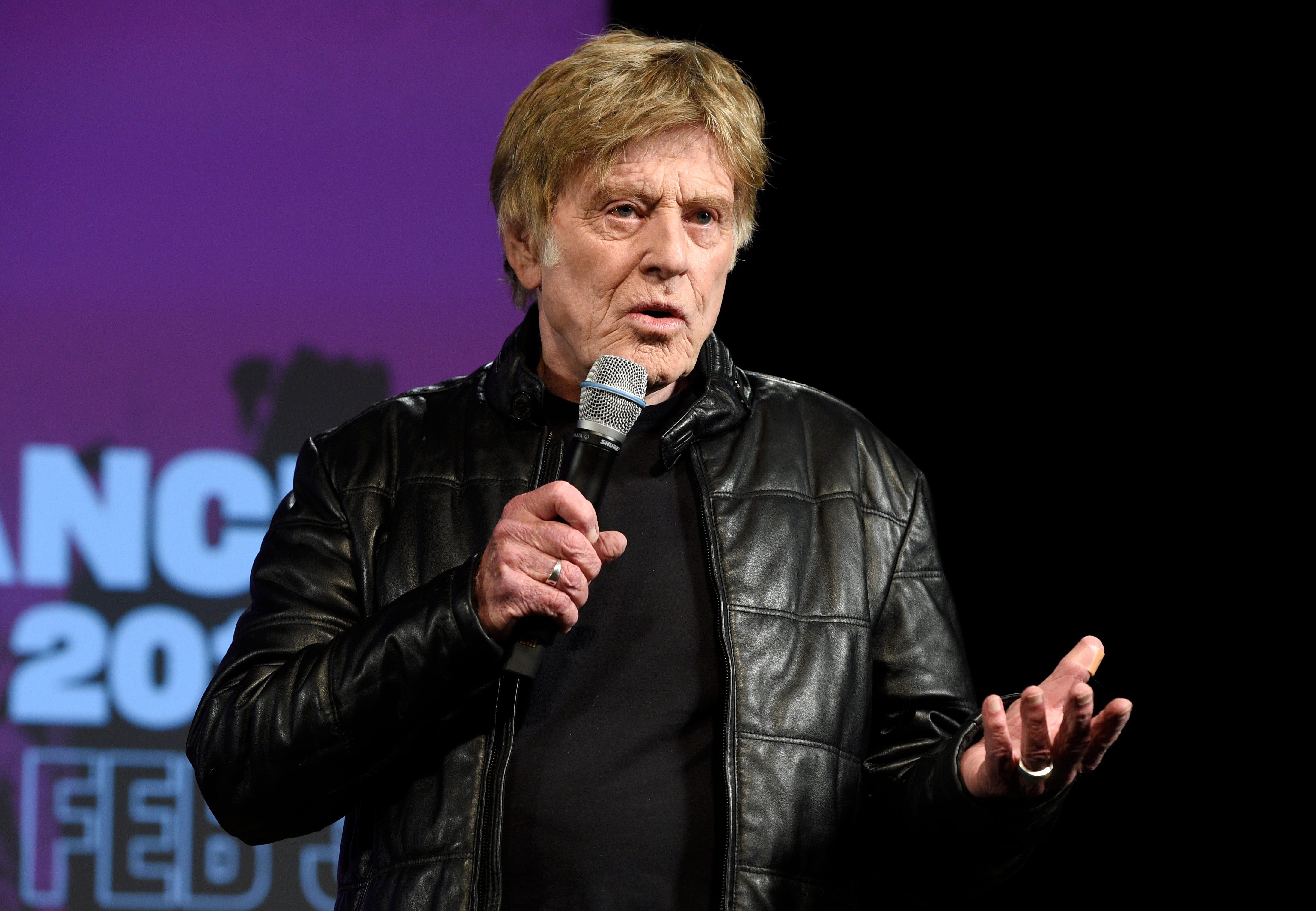Robert Redford steps back as the face of Sundance Film Festival