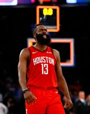 James Harden is wowing crowds with his spectacular offensive outbursts, which make  him the MVP favorite.