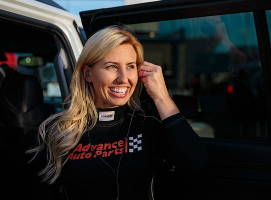 Courtney Force is the winningest female driver in NHRA Funny Car history.