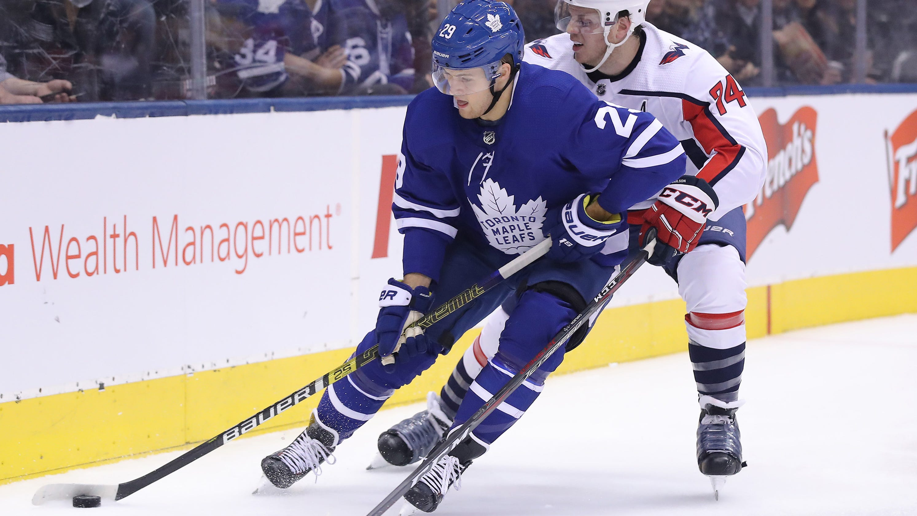 3eb7f834757 Toronto Maple Leafs deal Washington Capitals their seventh straight loss