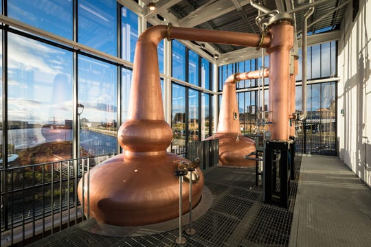 The Clydeside Distillery opened in Glasgow in 2017.