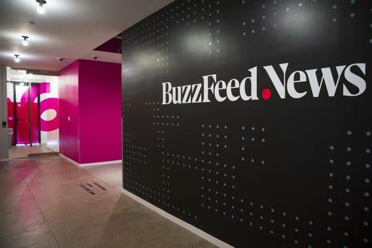 BuzzFeed News headquarters in New York City.