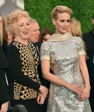 #RelationshipGoals: Holland Taylor, left, and Sarah Paulson at the Critics' Choice Awards in 2016.