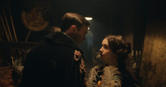Edith Bratt (Lily Collins) gave J.R.R. Tolkien (Nicholas Hoult) a loving and stable foundation for him to create his Middle-earth tales.