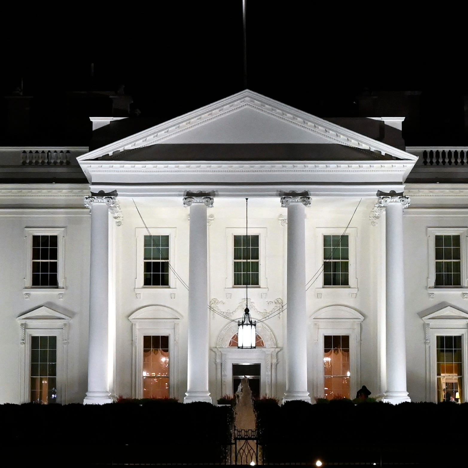 A view of the White House in Washington.