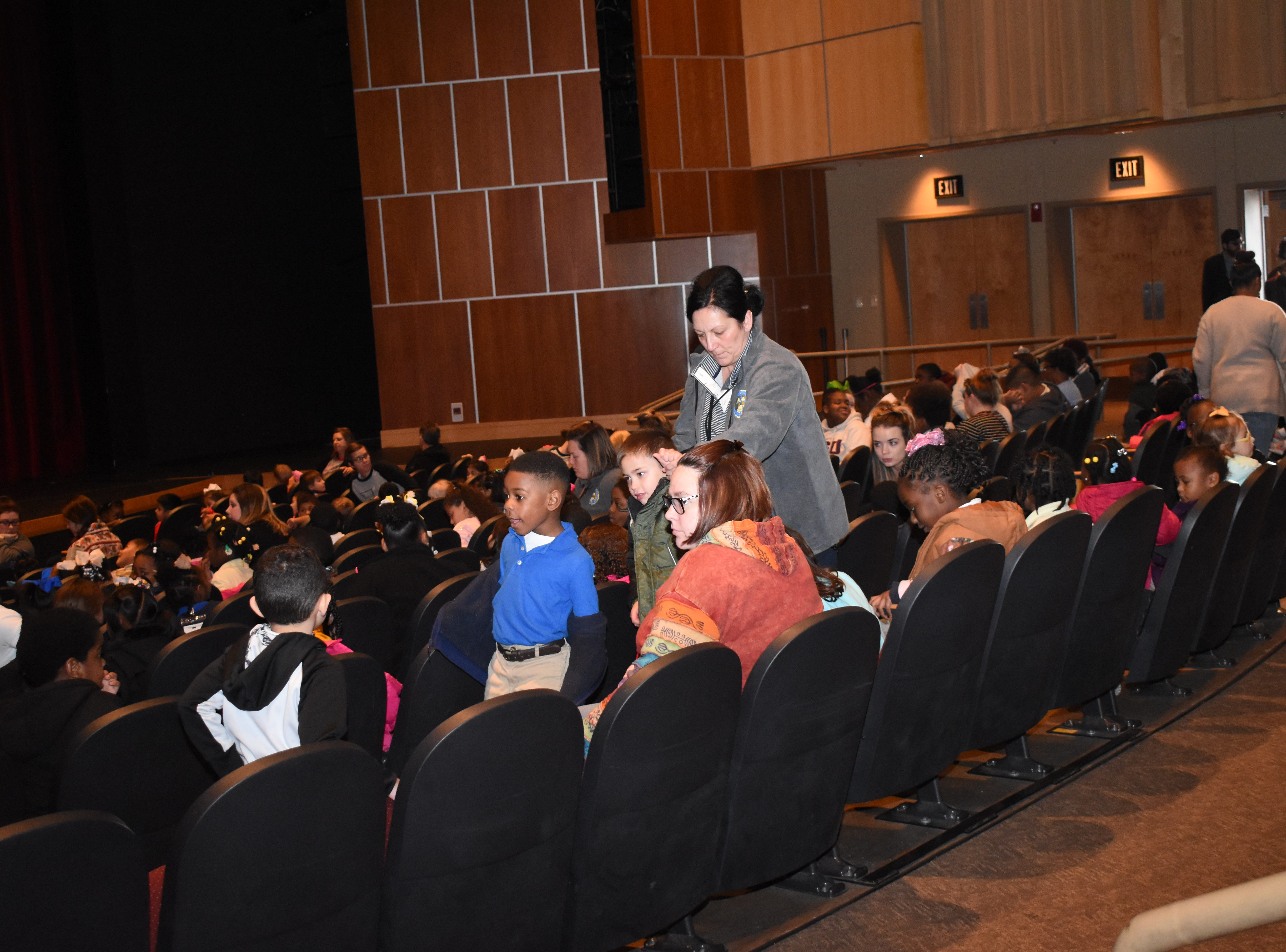 "The Arts Council of Central Louisiana provided two free performances of Lightwire Theater's ""The Ugly Duckling"" to students from Avoyelles, Catahoula, Grant, LaSalle and Rapides on Friday, Jan. 25, 2019 at the Coughlin-Saunders Performing Arts Center in downtown Alexandria. The free performances were made possible by a grant from the Central Louisiana Community Foundation. Lightwire produces glow-in-thedark shows and were semi-finalists on NBC's ""America's Got Talent."" 