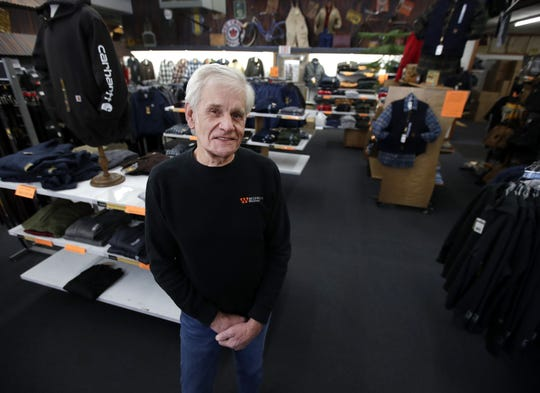 Don Grissman, owner of Midwest Workwear in Kaukauna, will retire in March, but his popular store and internet business will continue under a new owner.