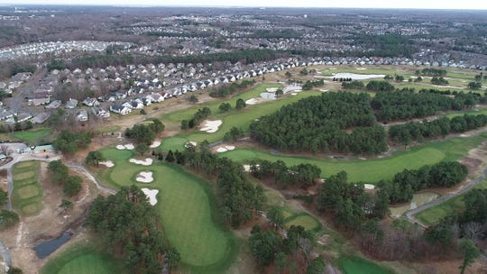 The Eagle Ridge Golf Course in Lakewood is shown Jan. 3, 2019, surrounded by homes in The Fairways at Lake Ridge community.