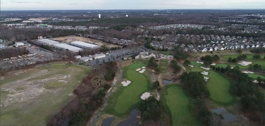 Development and housing surrounds The Eagle Ridge Gold Course in Lakewood shown Thursday, January 3, 2019.