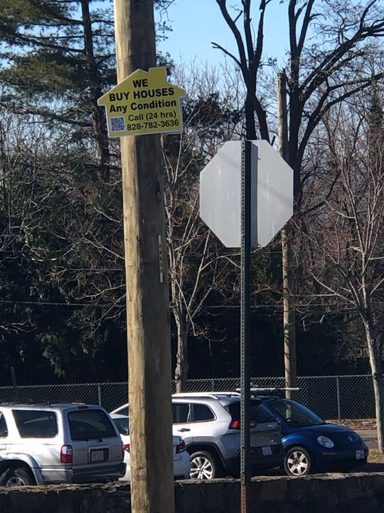 A reader asks if these types of signs are legal. In short, they're not.